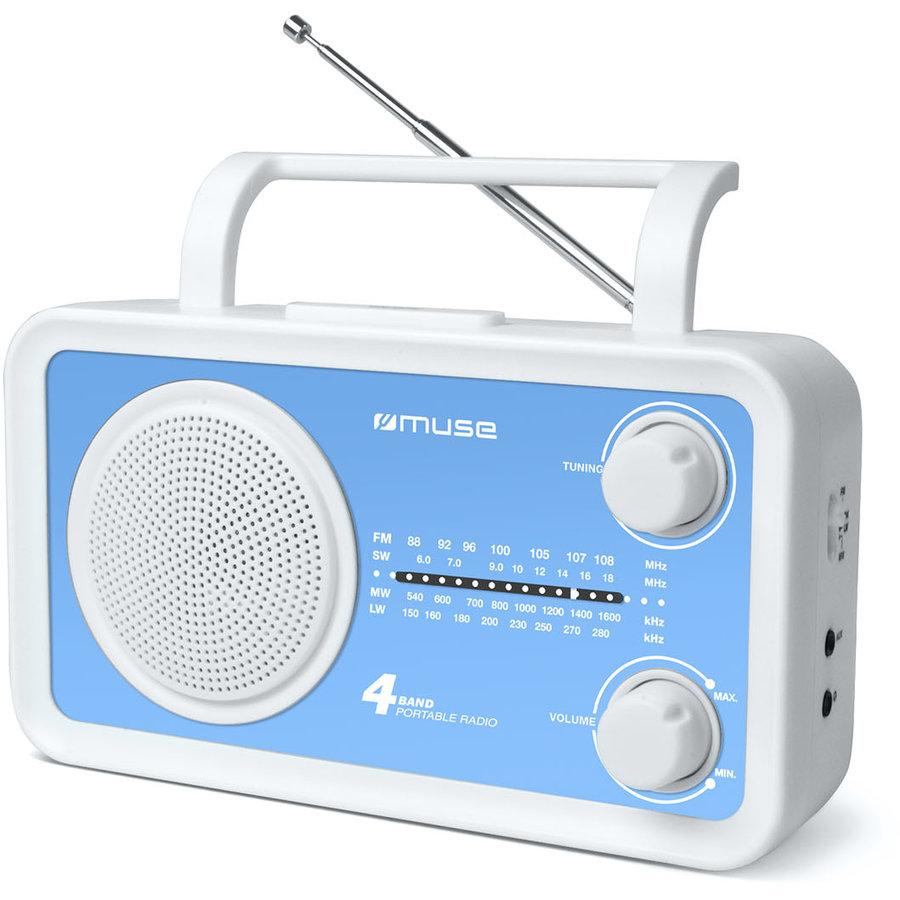 Radio portabil M-05 BL Blue