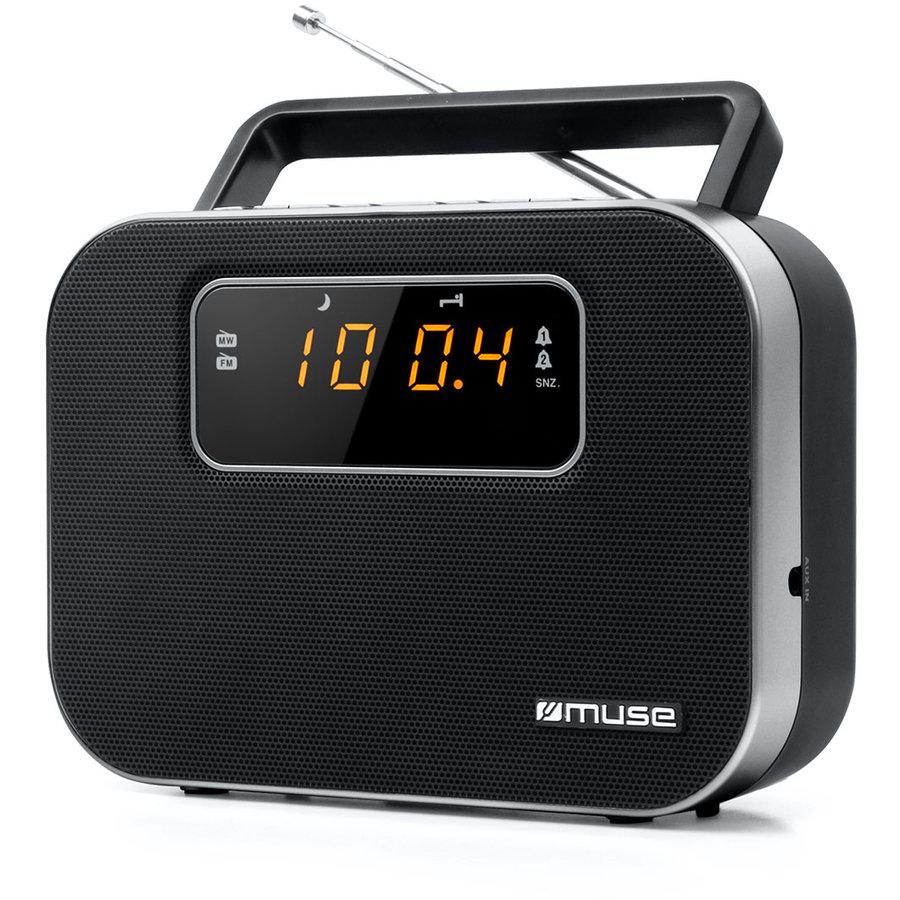 Radio portabil M-081 R Black