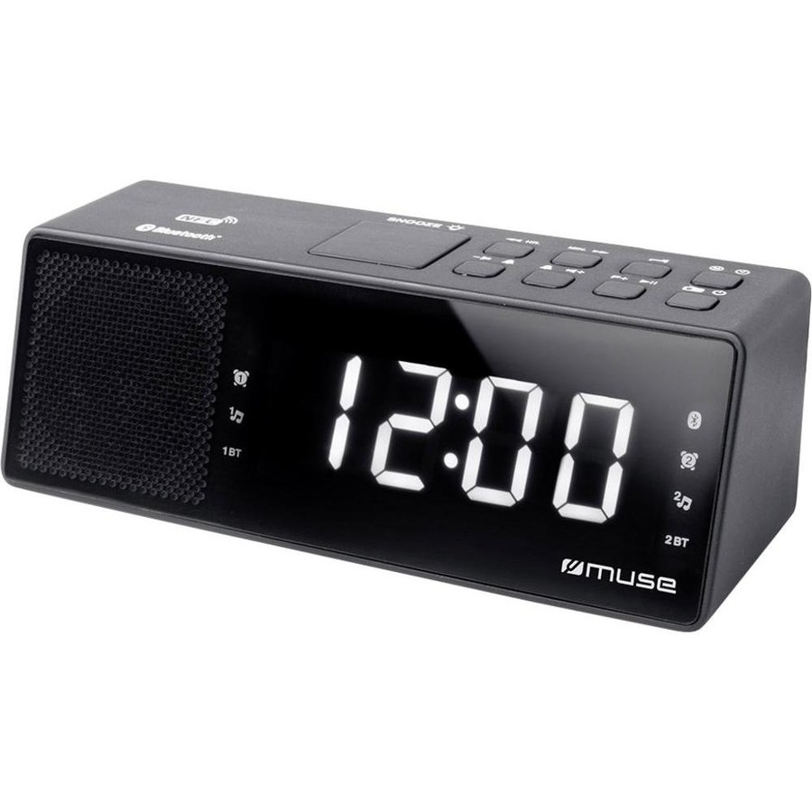 Radio cu ceas M-172 BT Bluetooth Black thumbnail
