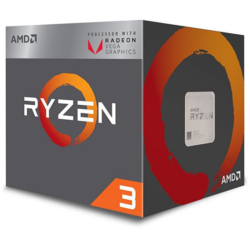 Procesor Ryzen 3 2200G Quad Core 3.5 GHz Socket AM4 BOX thumbnail