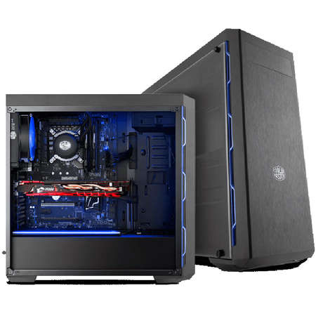 Carcasa Cooler Master MasterBox MB600L Blue