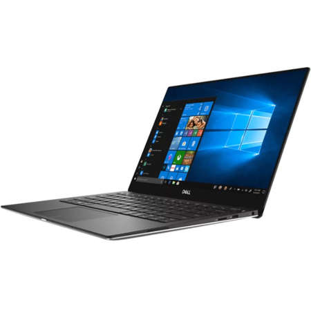 Laptop Dell XPS 13 9370 13.3 inch FHD Intel Core i5-8250U 8GB DDR3 256GB SSD FPR Windows 10 Pro Silver 3Yr NBD