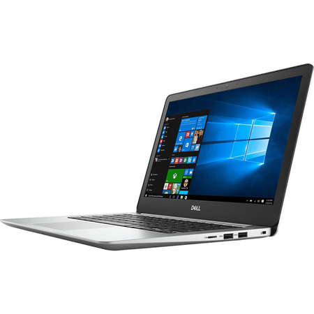 Laptop Dell Inspiron 5370 13.3 inch FHD Intel Core i7-8550U 8GB DDR4 256GB SSD AMD Radeon 530 2GB Windows 10 Pro Silver 3Yr CIS
