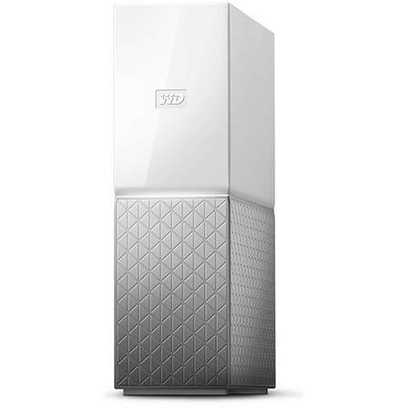 Hard disk extern WD My Cloud Home Single Drive 6TB Gigabit Ethernet USB 3.0