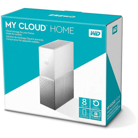 Hard disk extern WD My Cloud Home Single Drive 8TB Gigabit Ethernet USB 3.0