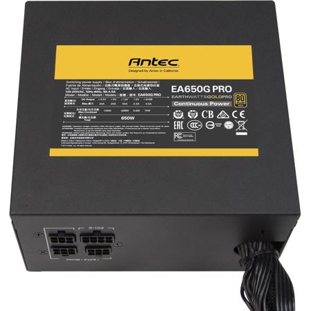 Sursa Semi Modulara Antec Earthwatts Gold Pro Series 650W 80+ Gold