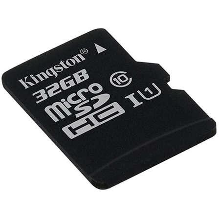 Card Kingston microSDHC Canvas Select 80R 32GB Clasa 10 UHS-I U1 80 Mbs
