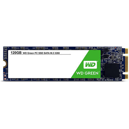 SSD WD New Green Series 120GB SATA-III M.2 2280