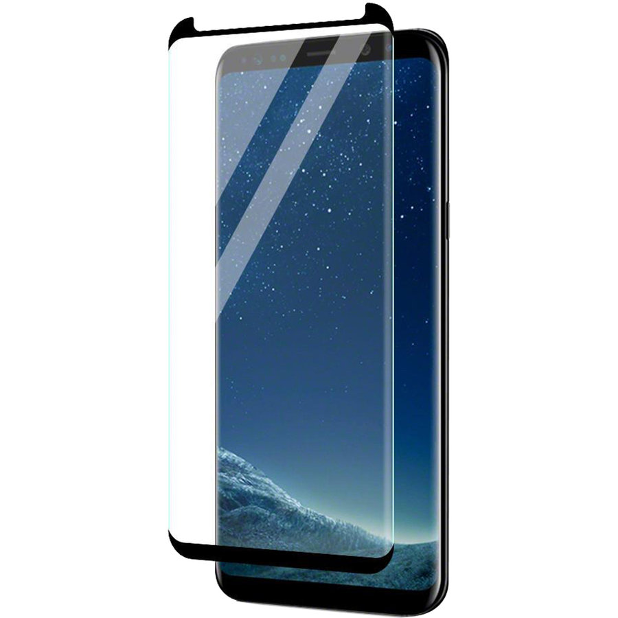Folie protectie ZMVIPC_SGS9PLUS Sticla Securizata Full Body 3D Curved Negru pentru SAMSUNG Galaxy S9 Plus