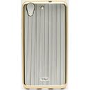 Silicon Vertical Stripes Gold pentru Huawei Y6 II