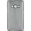 Vertical Stripes Black pentru Samsung Galaxy J1 2016