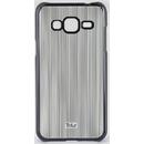 Vertical Stripes Black pentru Samsung Galaxy J3 2016