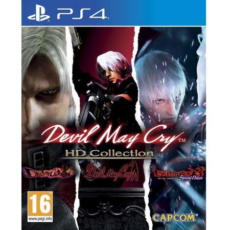 Joc consola Capcom DEVIL MAY CRY HD COLLECTION PS4