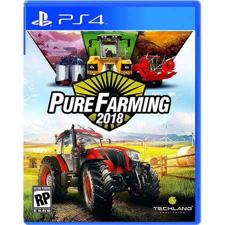 Joc consola Techland PURE FARMING 18 PS4