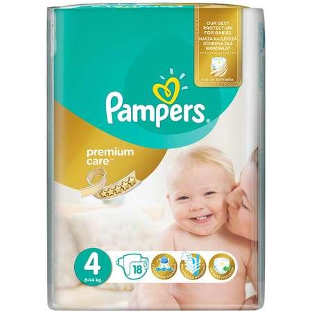 Scutece PAMPERS Premium Care 4 Maxi Small Pack 18 buc