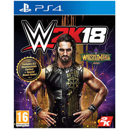 Joc consola Take 2 Interactive WWE 2K18 WRESTLEMANIA EDITION PS4