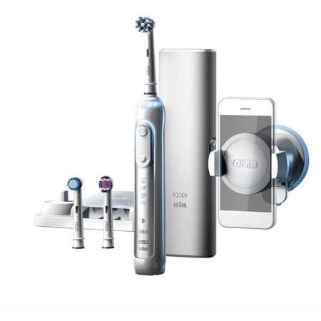 Periuta de dinti electrica Oral-B Genius 8000 3 capete Bluetooth White