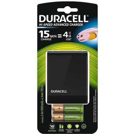 Incarcator acumulator Duracell CEF27 + acumulatori AAK2 1300mAh + acumulatori AAAK2 750mAh