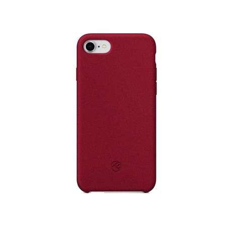 Husa Protectie Spate Tellur Sand Silicon Burgundy pentru Apple iPhone 8