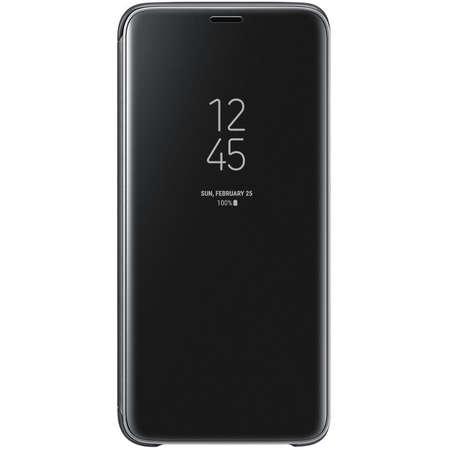 Husa Flip Cover Samsung EF-ZG960CBEGWW Book Clear View Black pentru Galaxy S9