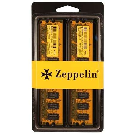 Memorie PC Zeppelin 2GB (2 x 1GB) DDR 400MHz Dual Channel Resigilata