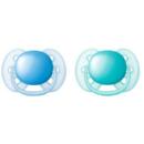 Avent SCF212/22 Ultra Soft 6-18 luni Albastru