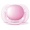 Set 2 suzete Philips Avent SCF213/20 Ultra Soft 0-6 luni Roz