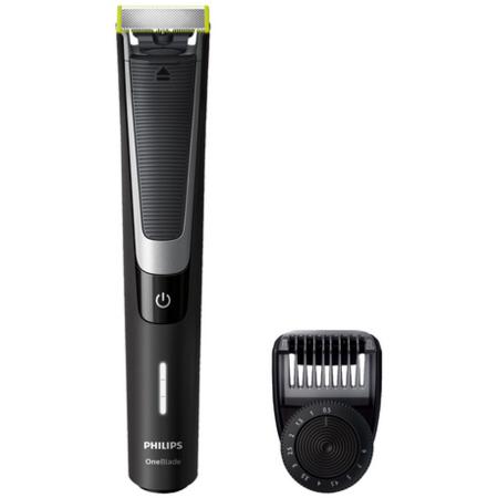 Aparat hibrid de barbierit si tuns barba Philips QP6510/20 OneBlade Pro Negru