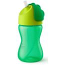 Cana cu pai Philips Avent SCF798/01 12 luni 300 ml Verde