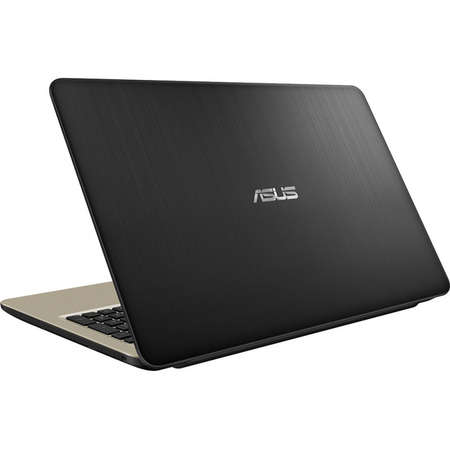 Laptop Asus VivoBook 15 X540NA-GO067 15.6 inch HD Intel Celeron N3350 4GB DDR3 500GB HDD Endless OS Chocolate Black