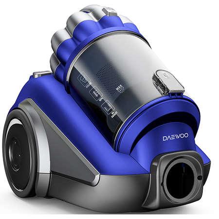 Aspirator fara sac Daewoo RCC-250L/3A 3 litri 800W Albastru