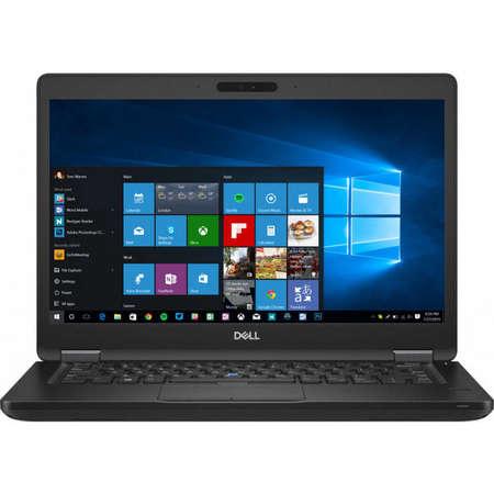 Laptop Dell Latitude 5490 14 inch FHD Intel Core i7-8650U 8GB DDR4 256GB SSD FPR Windows 10 Pro Black 3Yr NBD