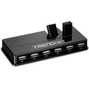 TU2-H10 10x USB Negru