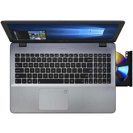 Laptop Asus VivoBook X542UA-DM521 15.6 inch FHD Intel Core i5-8250U 4GB DDR4 1TB HDD Endless OS Grey