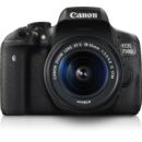 Aparat foto DSLR Canon EOS750D 18-55S +50 1.8 S Black