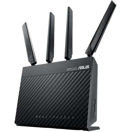 Router wireless Asus 4G-AC68U AC 1900 Dual-Band 4G LTE