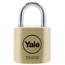 Lacat de alama Yale Y110/40/123/4 40 mm 4 bucati
