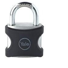 Lacat aluminiu Yale YE3/25/112/1/BK 25 mm Negru