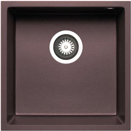 Chiuveta de bucatarie Pyramis Granit TETRAGON 40x40 1B Chocolate