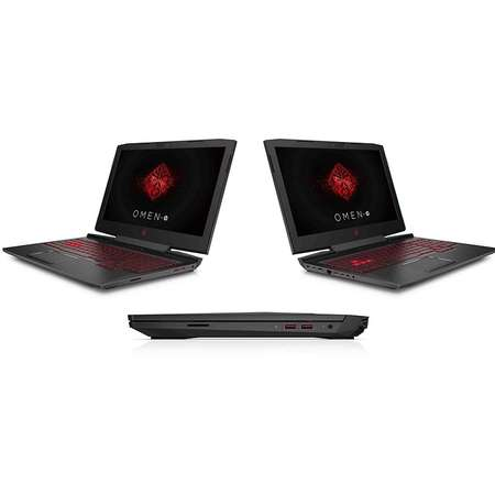 Laptop HP OMEN 15.6 inch FHD Intel Core i7-7700HQ 12GB DDR4 1TB HDD 128GB SSD nVidia GeForce GTX 1060 6GB Shadow Black