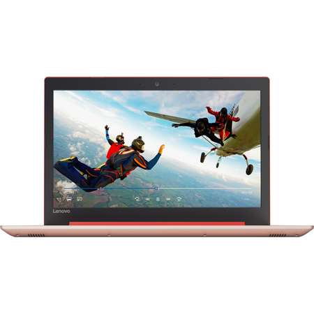 Laptop Lenovo IdeaPad 320-15IAP 15.6 inch HD Intel Celeron N3350 4GB DDR3 1TB HDD Coral Red