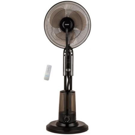 Ventilator cu pulverizare apa Zass ZMF 02 Black 75W 3.2 litri