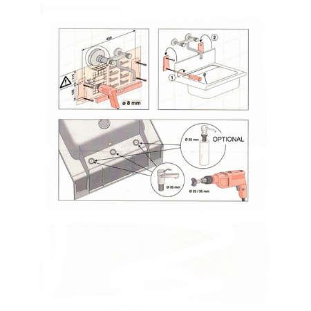 Chiuveta Multirol Pyramis COMPACT 55x45 Gri