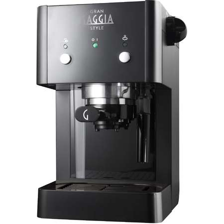 Espressor Manual Gaggia Style 15 bar 1 Litru 950W Negru
