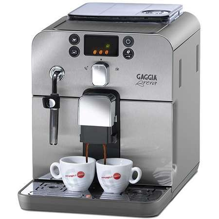 Espressor Automat Gaggia Brera 15 bari 1.2 Litri 1400W Argintiu