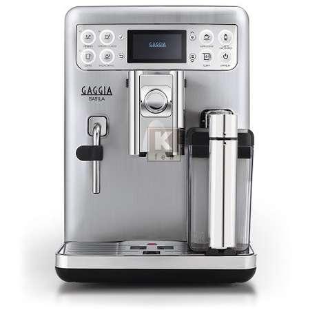 Espressor Automat Gaggia Babila 15 bar 1.5 Litri 1400W Argintiu