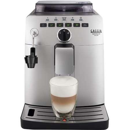 Espressor Automat Gaggia Naviglio Deluxe 15 bar 1.5 Litri 1850W Argintiu