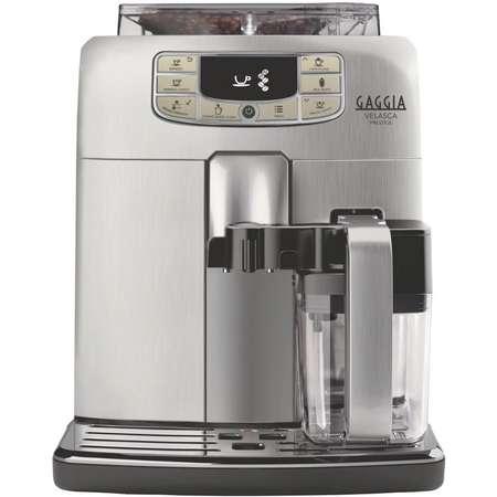 Espressor Automat Gaggia Velasca Prestige 15 bar 1.5 Litri Argintiu