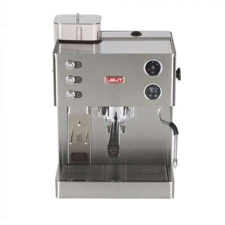 Espressor Manual Lelit PL82 T KATE 15 bar 2.5 Litri 1200W Argintiu