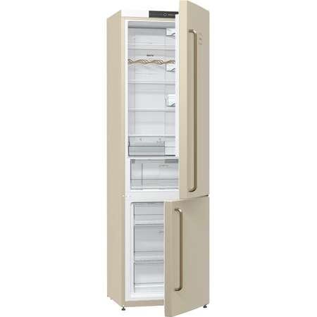 Combina frigorifica Gorenje NRK 621 CLI Old Time 363 litri Clasa A+ NoFrost Plus Crem
